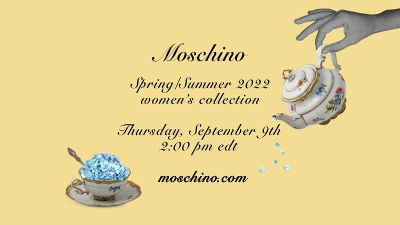 2022春夏紐約時裝週|Moschino大秀直播線上看,9/10凌晨兩點準時登場