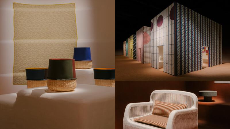 愛馬仕 Hermès 2021~2022年家居系列於米蘭家具展登場,返璞歸真的工藝之最