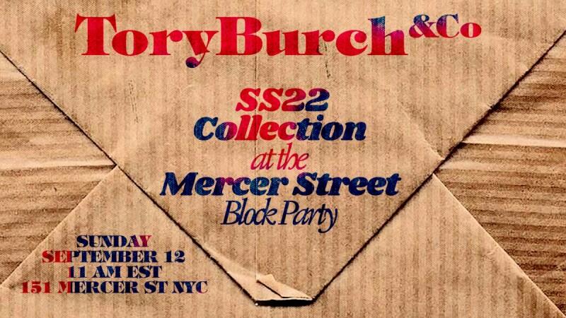 2022春夏紐約時裝週 Tory Burch大秀9/12晚上11點,線上直播這邊看