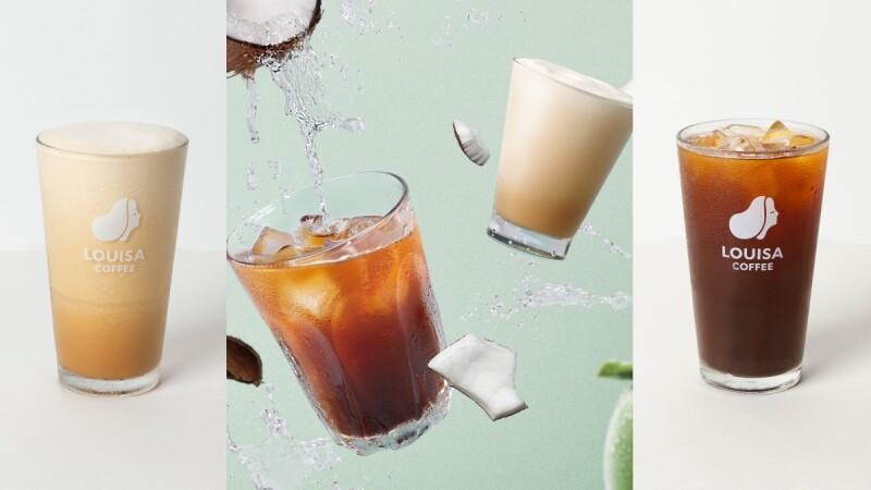 路易莎2款生椰咖啡清涼登場!全新美式與拿鐵消暑的新選擇