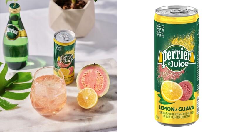 沛綠雅全新推出「檸檬芭樂氣泡綜合果汁」!粉紅香檳浪漫色澤,9月17日好市多開賣