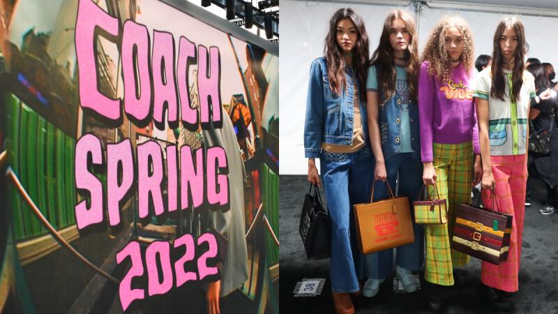 2022春夏紐約時裝週|Coach回歸實體大秀,紐約知名地標躍上包包+服飾設計