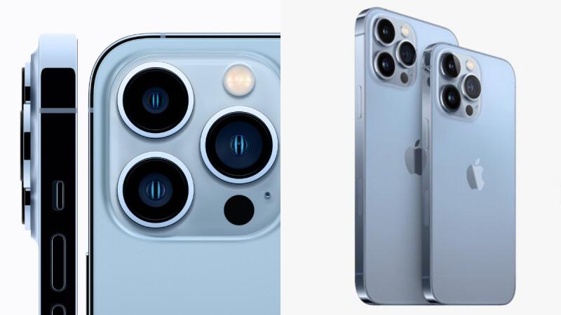 iPhone 13 Pro蘋果手機來了!全新天峰藍色登場,容量最大可達1TB