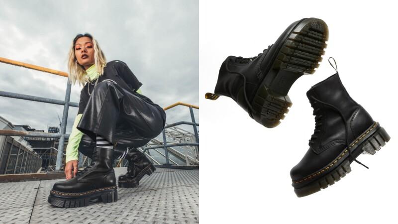 Dr. Marten最新鉅齒厚底1460馬汀靴!默默增高5cm,秋冬穿搭怎能錯過它
