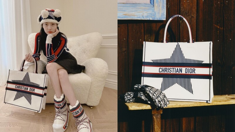 Dior首個DiorAlps系列開賣,雪靴、毛帽、托特包…沒下雪照樣能穿TOP5推薦