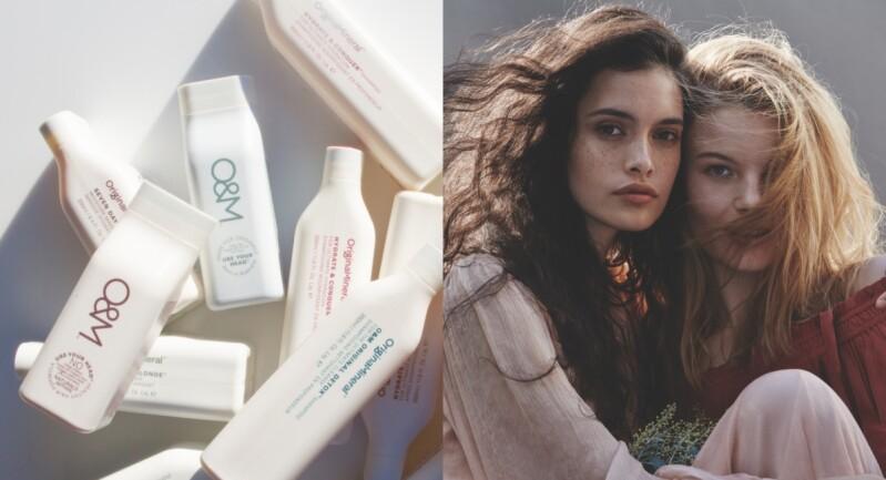 澳洲天然專業髮品O&M登台!天然、純淨、無添加,洗護造型都用得好安心