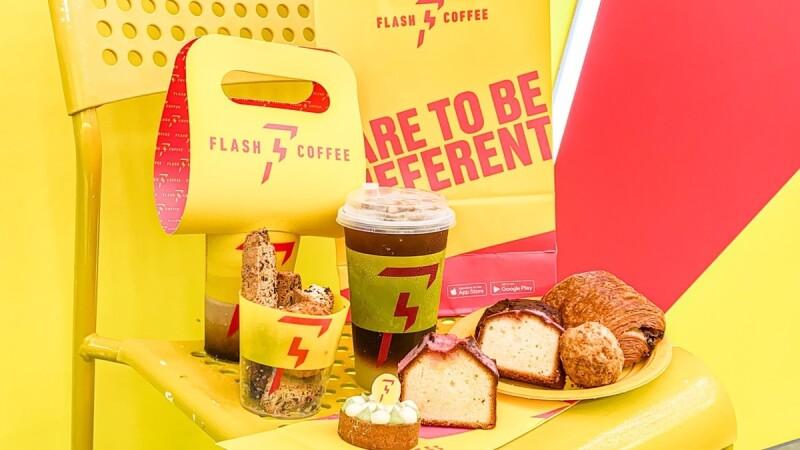 Flash Coffee插旗信義區全新7款甜點一次看!必吃酪梨塔、巴斯克蛋糕