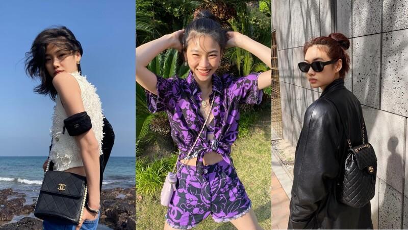 《魷魚遊戲》姜曉私下是香奈兒鐵粉,收藏珍珠鍊帶包、芭蕾粉化妝袋、經典流浪包8款超有品味的Chanel手袋