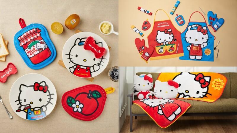 全聯Hello Kitty換購活動來了!9大超萌凱蒂貓日用品,餐盤毛毯都想收