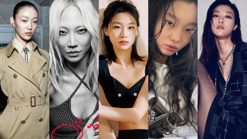 韓國超模風格解析,除了《魷魚遊戲》中的「姜曉」鄭好娟,這幾位擁有獨特個性的韓國Model也請務必留意!
