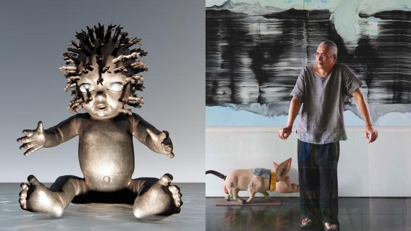 【專訪】蕨知苑雕塑藝術家「楊柏林」生於大自然的孤獨絕美