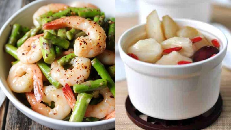 竹筍炒雞絲/銀耳百合燉梨湯/蒜泥茄子,3道秋季養瘦餐食譜來了!