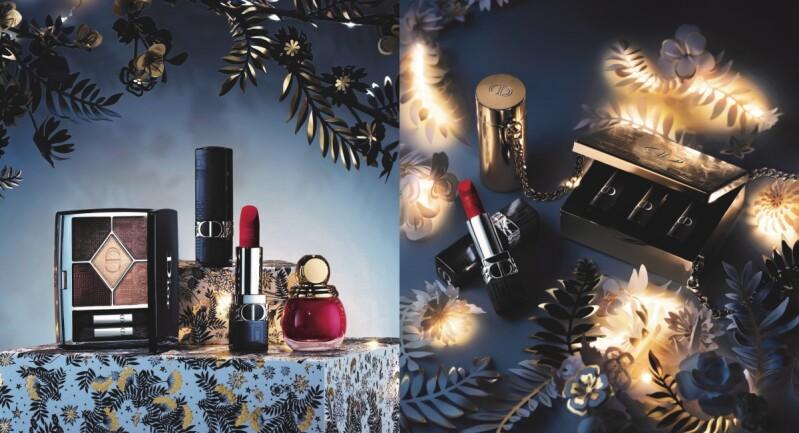 Dior 2021聖誕璀璨蒙田限量彩妝!精緻壓紋腮紅、奢華珠寶盒,絕美必收