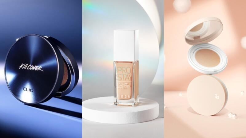 2021秋冬專櫃開架底妝新品18款推薦,最新粉底液、氣墊與水粉餅一次看