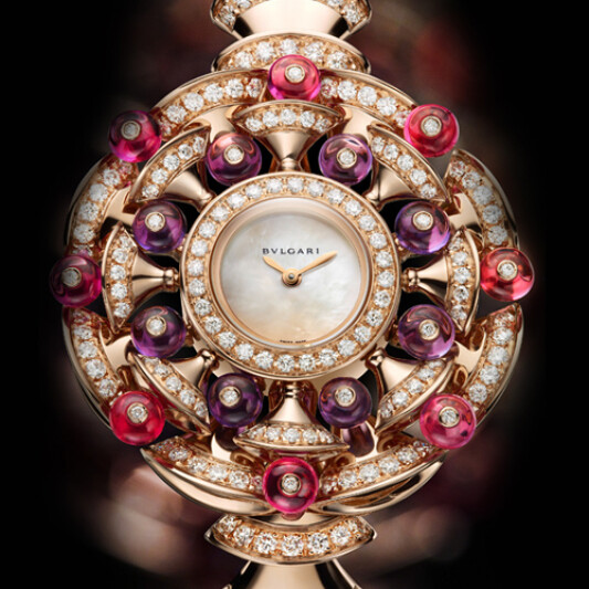 BVLGARI寶格麗全新DIVA系列珠寶腕表