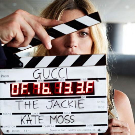 KATE MOSS為GUCCI拍攝微電影 詮釋FRIDA GIANNINI全新賈姬包系列