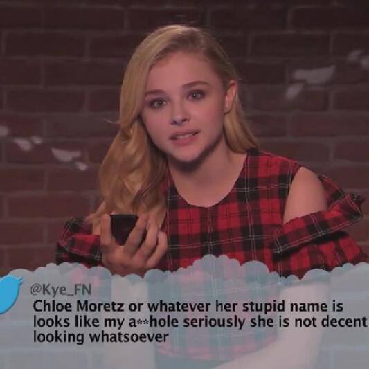 大爆笑! 超殺女Chloe、小甜甜布蘭妮、葛妮絲派特洛讀完邪惡留言的反應是…