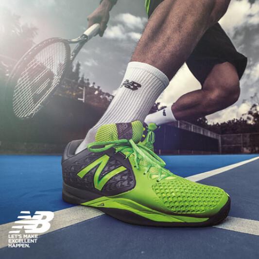 蓄勢待發征戰澳網!Milos Raonic穿New Balance網球專屬系列裝備!