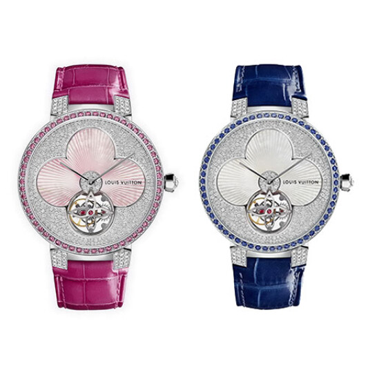 LOUIS VUITTON 2015最新錶款,率性優雅的PART-2