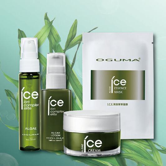 啟動海洋深能量「水美媒I.C.E海藻系列」讓肌膚深呼吸!