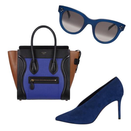CÉLINE秋季推出神秘感靛藍色系列,演繹摩登時尚魅力!