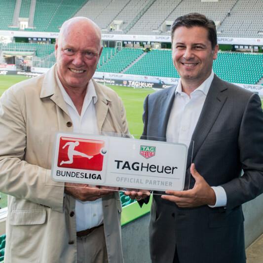 TAG Heuer與德國足球甲級聯賽合作,成為官方計時器和官方指定腕表