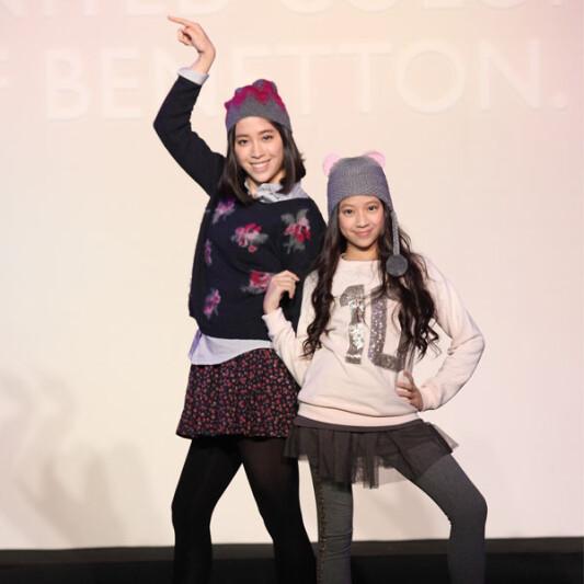歐陽妮妮舞力全開 展現Benetton繽紛暖冬針織時尚