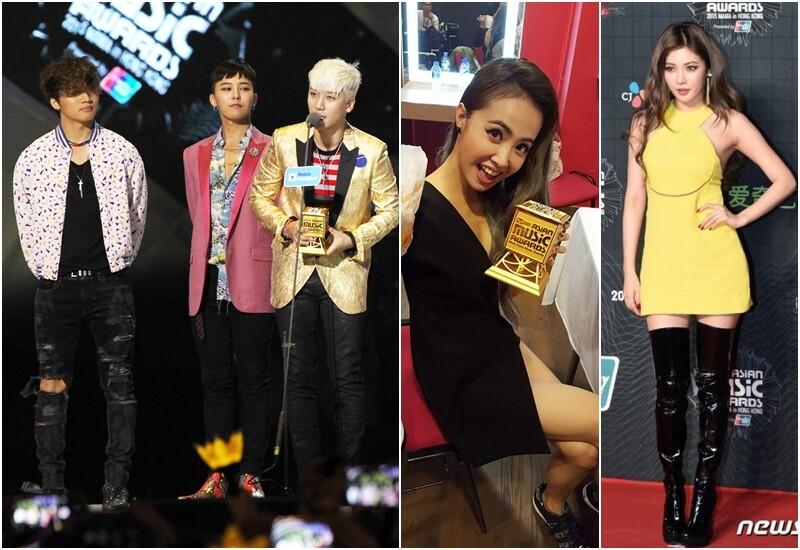 舞台魅力爆棚!BIGBANG、蔡依林、泫雅MAMA大獎造型全收錄