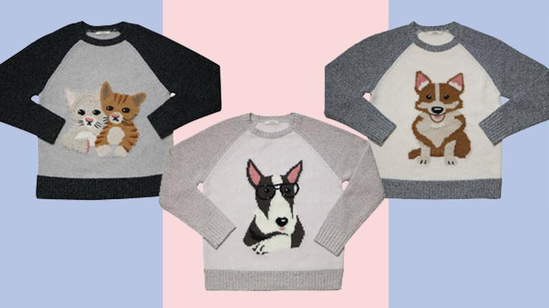 萌萌的好療癒!初衣食午動物針織衫陪你溫暖過冬