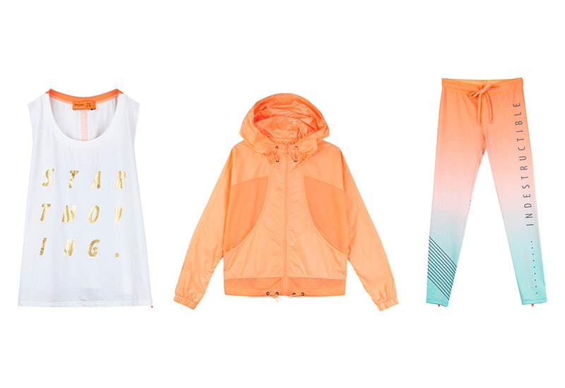 設計和價位都讓人心動!Bershka春夏運動服大玩粉嫩漸層配色