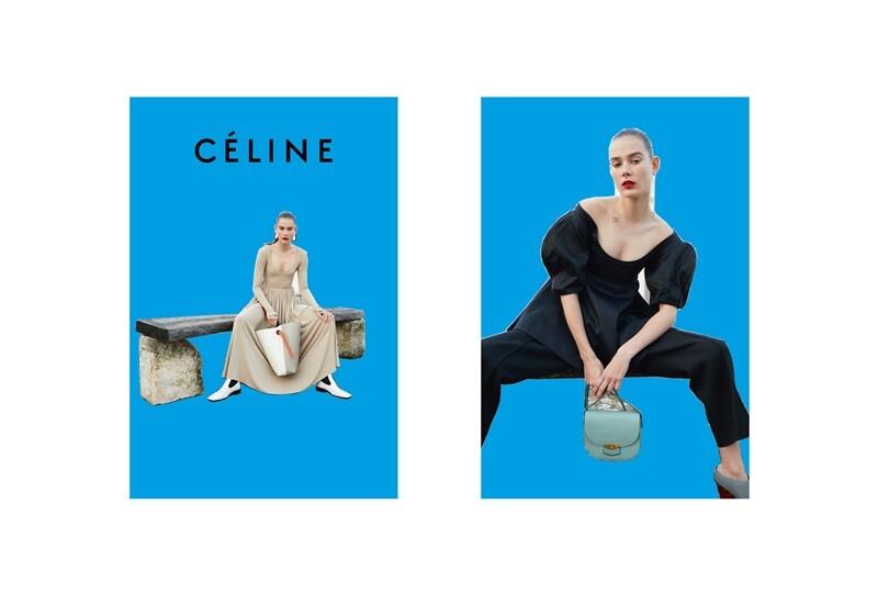 CÉLINE 2016夏季廣告出爐!齊聚三大時尚新星率性演譯