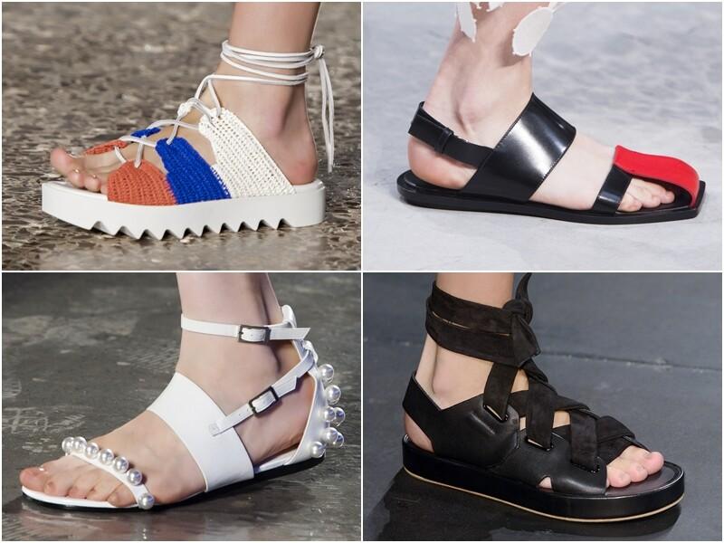MC Runway HighLights 配件趨勢看這裡 :平底涼鞋正當紅
