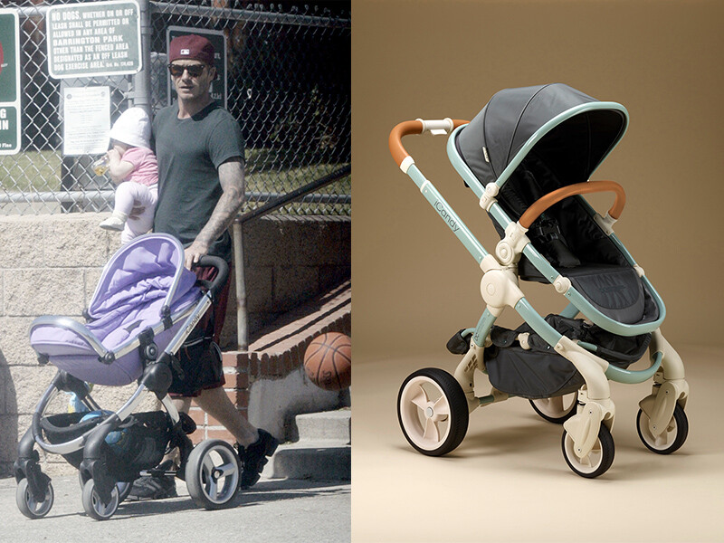 一圓星爸星媽夢!小哈潑貝克漢御用嬰兒車時髦又實用