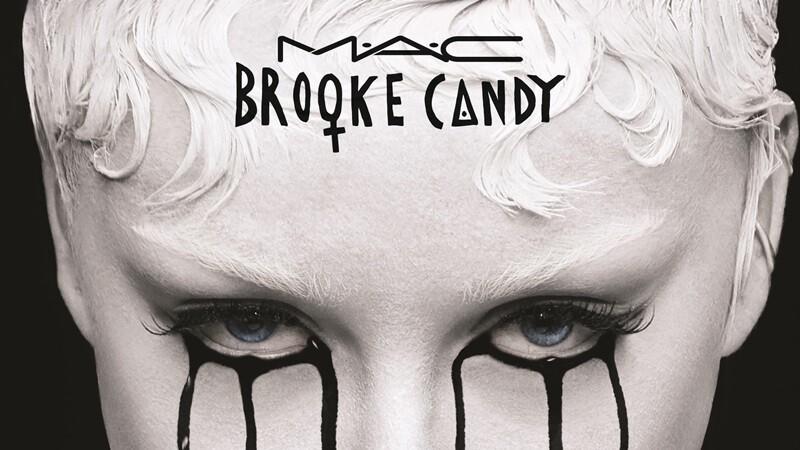 叛逆來襲!M.A.C 聯名暗黑女王Brooke Candy彩妝