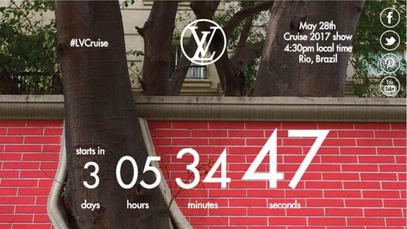 【早春時裝秀Live】Louis Vuitton 2017早春女裝大秀倒數:5月29日凌晨3點30分正式登場!