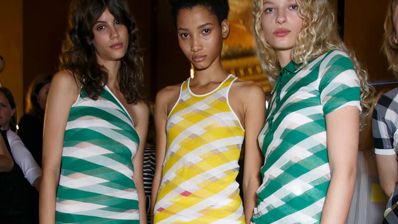 今年春夏,做個時尚「直」線條!