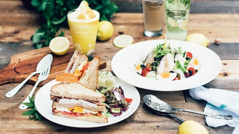 L'OCCITANE Café讓你置身普羅旺斯,享受純淨的南法饗宴