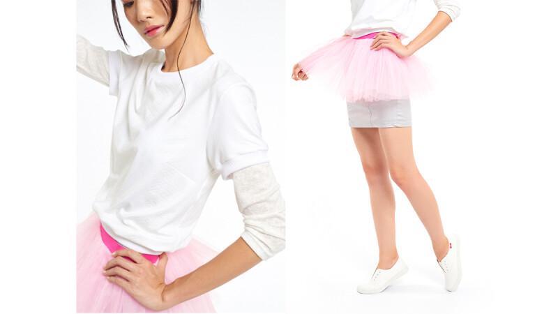 PINK RUN 運動時尚風潮蔓延 Style4:自信粉紅OL