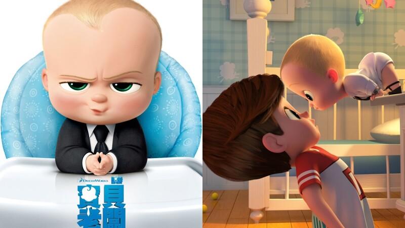 心機超重的萌嬰兒!夢工廠動畫推出爆笑新片《寶貝老闆》