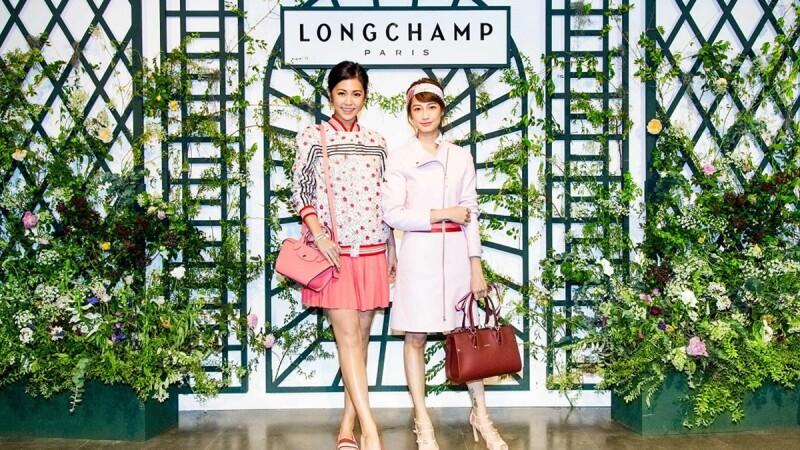 東京粉嫩櫻花風VS倫敦氣質霧藍色!LONGCHAMP 2017春季風格擄獲女人心