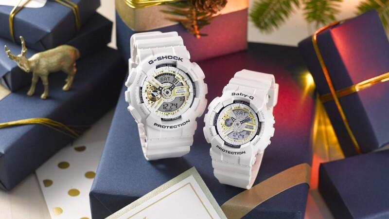 20週年復刻版帆布對錶必收藏!G-SHOCK & BABY-G聖誕限定款