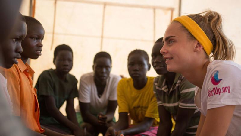 「這一周,改變了我的生命。」超模卡拉.迪樂芬妮寫下的烏干達慈善日記