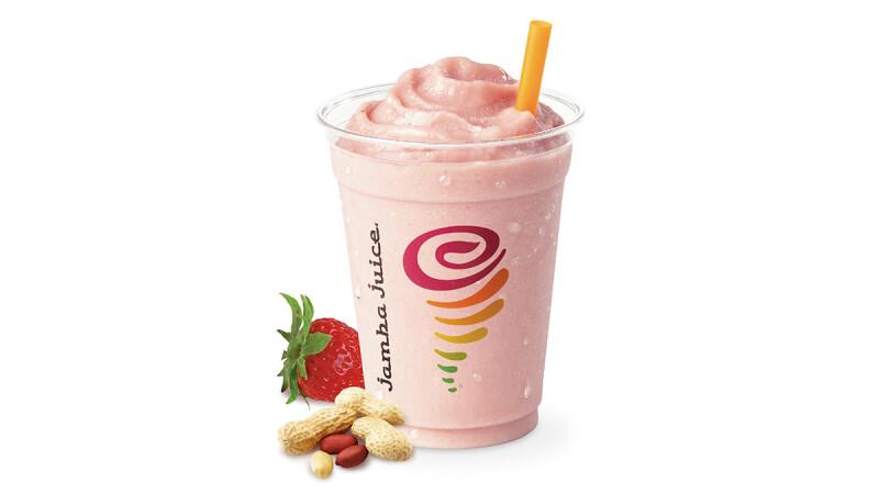喝一口初戀般的酸甜滋味!Jamba Juice推出全新草莓三明治活力果昔
