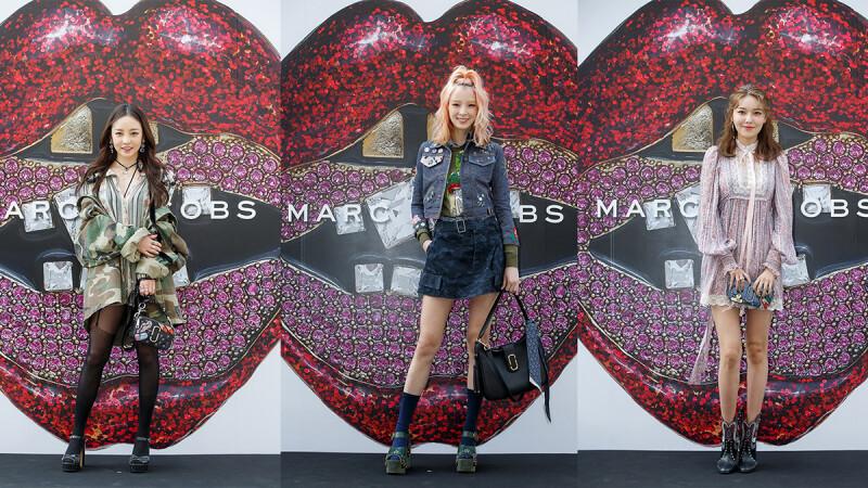 酷女孩都這麼穿!快來看看 Marc Jacobs 是如何擄獲亞洲女神的心!