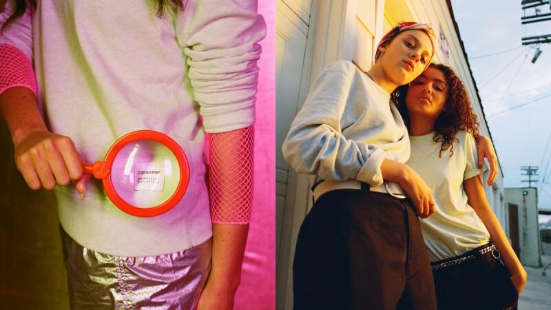 搭網眼衣、寬褲都適合!春夏衣櫃必備一件CONVERSE Essentials素色圓領T