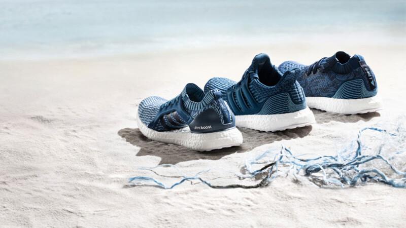 不只顏色超沁涼,連素材都來自海洋!adidas x Parley環保概念球鞋登台開賣!