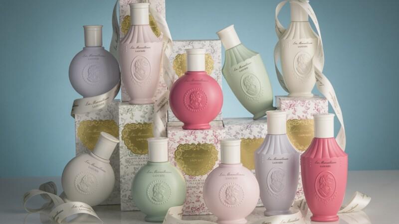沐浴精露、身體乳都是夢幻粉嫩色調!Les Merveilleuses LADURÉE推出花園漫步美體系列也太復古典雅了