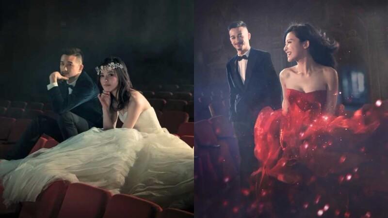 「妳是世界上唯一的、完美的!」宛如電影劇照,吳中天楊子姍絕美婚紗照曝光