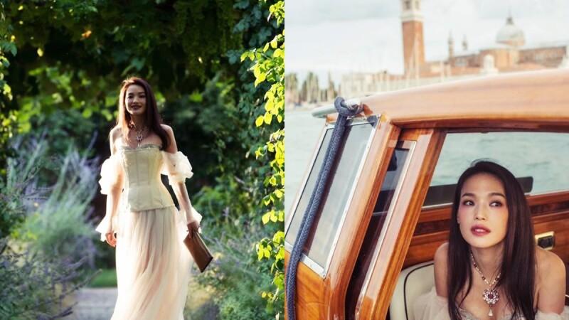 寶格麗FESTA慶典系列珠寶展搬到威尼斯!舒淇、Bella Hadid眾星齊聚大展珍稀寶石