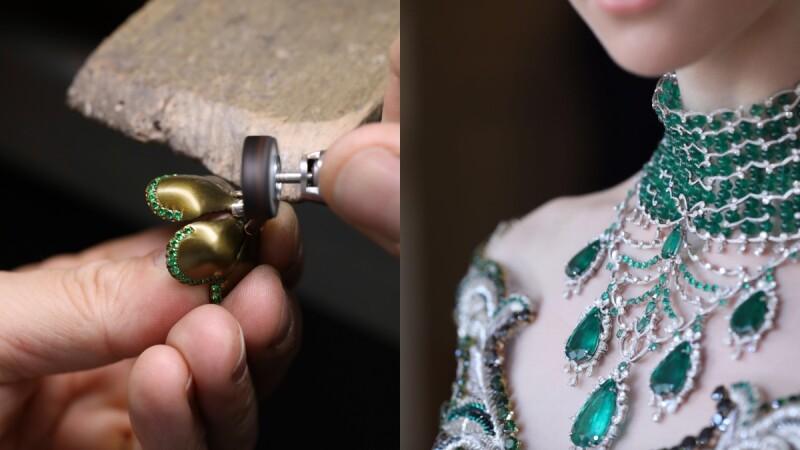 蕭邦Chopard Silk Road系列,傾訴珠寶與時裝的夢幻邂逅!